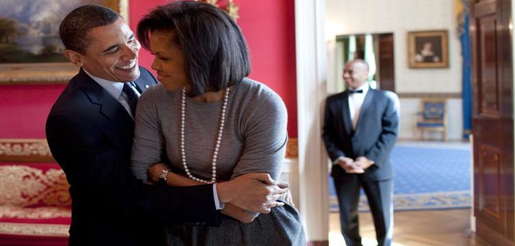 Barack e Michelle Obama - Foto Pete Souza - A Casa Branca