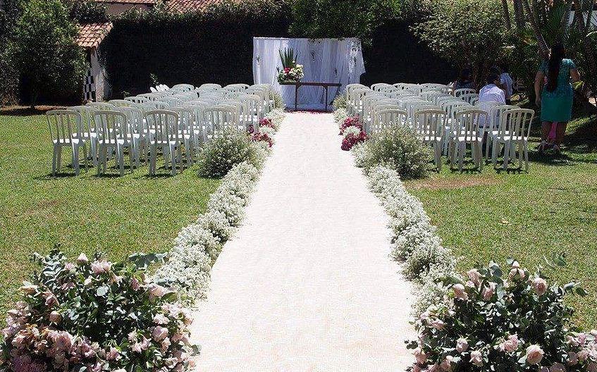Decoração Casamento Solidário