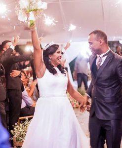 Noivos do Casamento Solidário