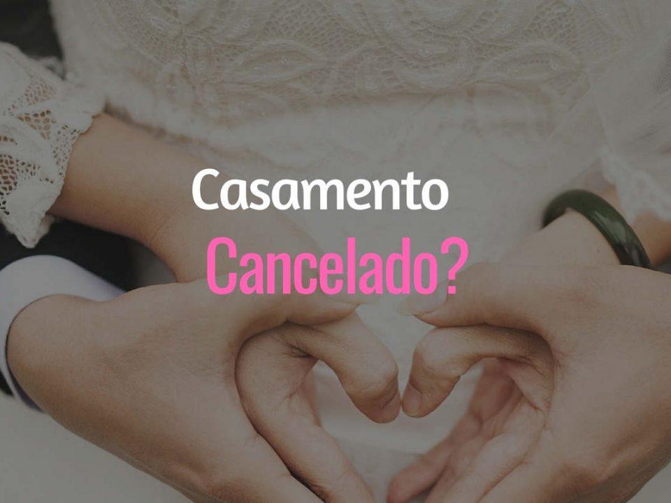 Casamento Cancelado Covid-19 Coronavírus